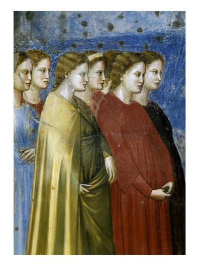 The Virgin's Wedding Procession, Detail-Giotto di Bondone-Giclee Print