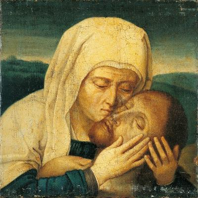 The Virgin with Dead Christ--Giclee Print
