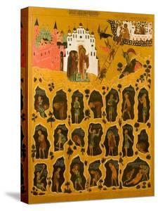 The Vision of Saint John Climacus, 16th Century