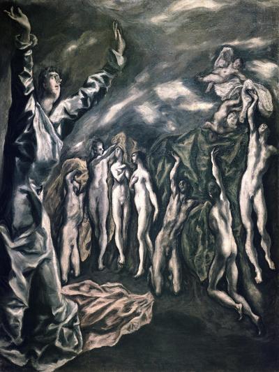 The Vision of Saint John-El Greco-Giclee Print