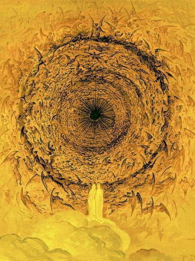 The Vision of the Empyrean, Illustration from 'The Dore Gallery'-Gustave Dor?-Giclee Print