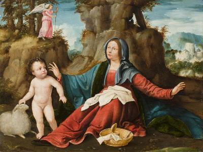 The Vision of the Virgin Mary, C.1518-20-Altobello Melone-Giclee Print