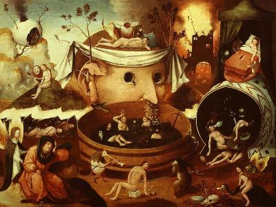 The Vision of Tondal-Hieronymus Bosch-Giclee Print