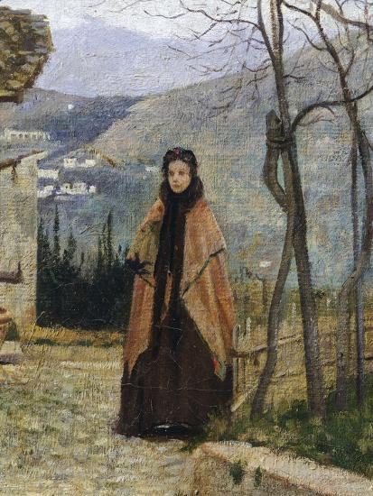The Visit, Detail-Silvestro Lega-Giclee Print