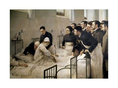 The Visit of the Doctor, 1897-Luis Jimenez Aranda-Giclee Print