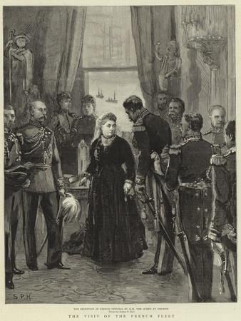 The Visit of the French Fleet--Giclee Print