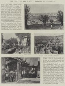 The Visit of the German Emperor to Palestine