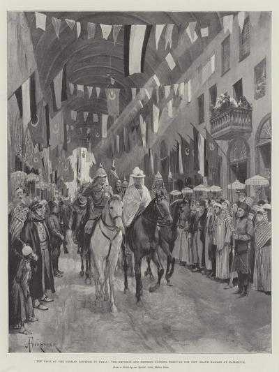 The Visit of the German Emperor to Syria-Amedee Forestier-Giclee Print