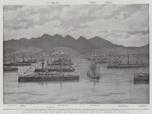 The Visit of the King and Queen of Italy to Sardinia, the Naval Review in Aranci Bay