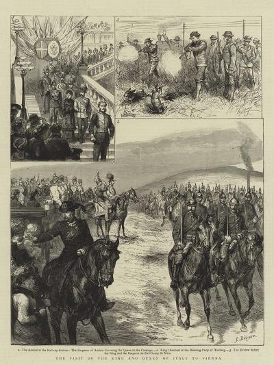 The Visit of the King and Queen of Italy to Vienna-Godefroy Durand-Giclee Print