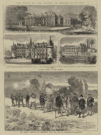 The Visit of the Prince of Wales to France--Giclee Print