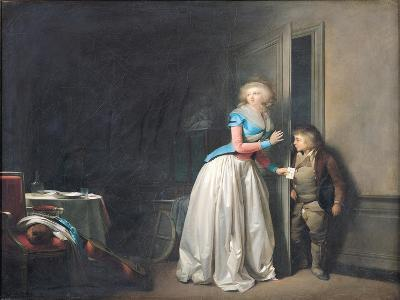 The Visit Received, 1789-Louis Leopold Boilly-Giclee Print