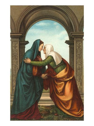 The Visitation by Albertinelli, Florence--Art Print