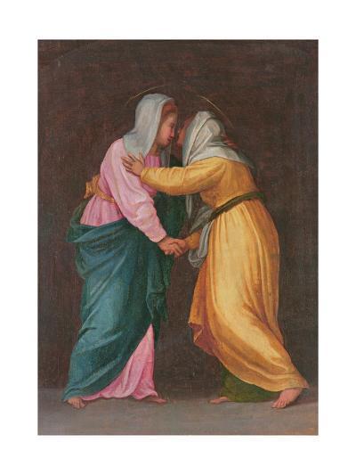The Visitation, Carro Della Zecca-Jacopo da Carucci Pontormo-Giclee Print