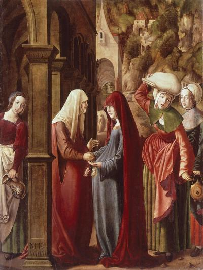 The Visitation, Detail from Scenes of the Life of the Virgin, 1511-Marx Reichlich-Giclee Print