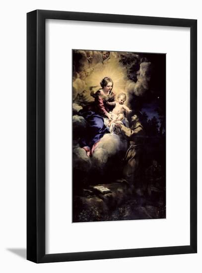 The Visitation of St. Francis, 1641- Pietro Da Cortona-Framed Giclee Print