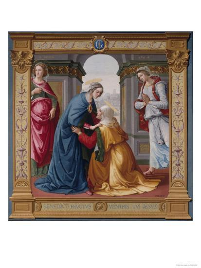 The Visitation Tapestry--Giclee Print