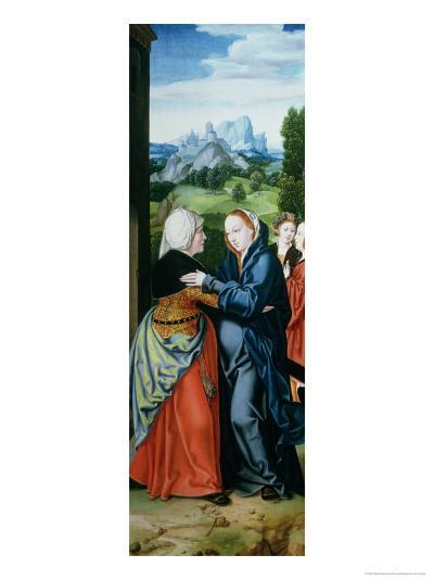 The Visitation-Bartholomaeus Bruyn-Giclee Print