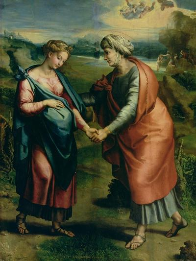 The Visitation-Raphael-Giclee Print