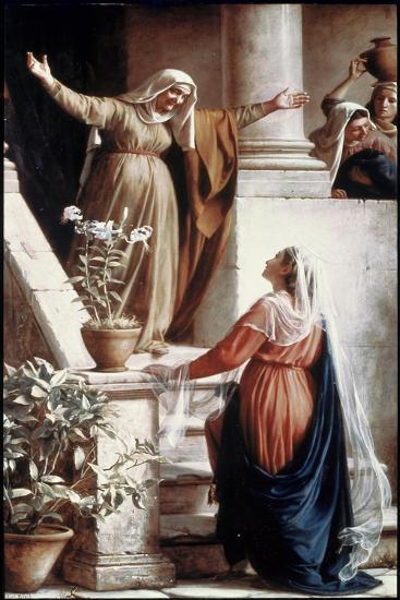 The Visitation-Carl Bloch-Giclee Print