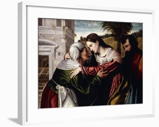 The Visitation-Alessandro Bonvicino-Framed Giclee Print
