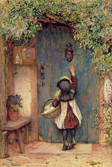 The Visitor-Arthur Hopkins-Giclee Print