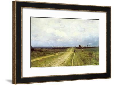 The Vladimirka Road, 1892-Isaak Ilyich Levitan-Framed Giclee Print