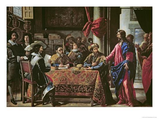 The Vocation of St. Matthew-Juan De Pareja-Giclee Print