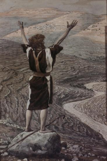 The Voice in the Desert-James Jacques Joseph Tissot-Giclee Print