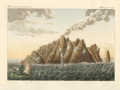 The Volcanic Island of Holy John the Theologian--Giclee Print
