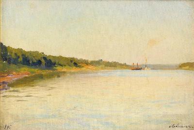 The Volga River Bank, 1889-Isaak Ilyich Levitan-Giclee Print