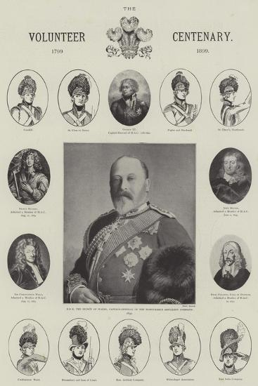 The Volunteer Centenary, 1799-1899--Giclee Print