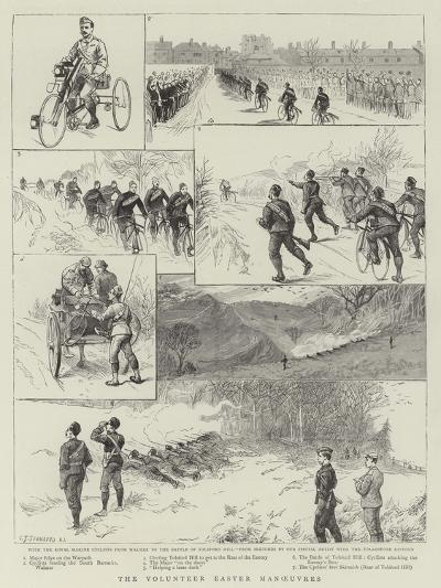 The Volunteer Easter Manoeuvres-Charles Joseph Staniland-Giclee Print