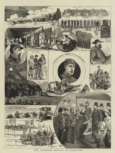 The Volunteer Meeting at Wimbledon--Giclee Print