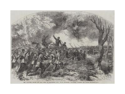 The Volunteer Review and Sham Fight at Panshanger Park--Giclee Print