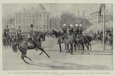 The Volunteer Review before the Prince of Wales-Frank Dadd-Giclee Print