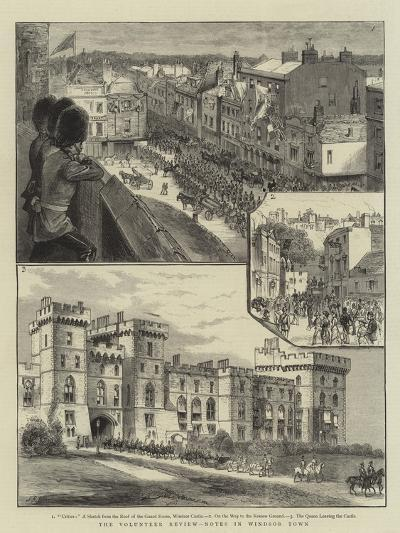 The Volunteer Review, Notes in Windsor Town--Giclee Print