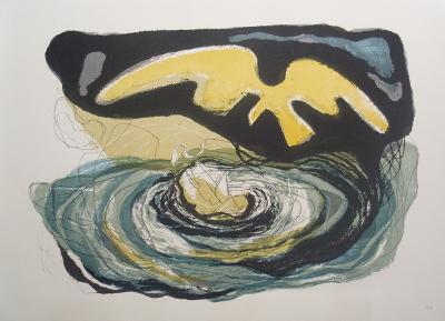 The Vortex-Benton Spruance-Art Print