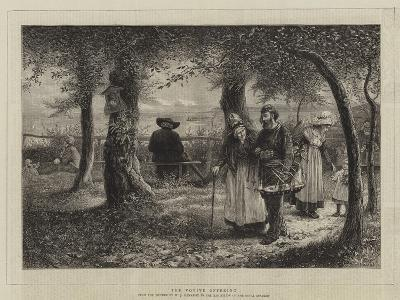 The Votive Offering-William John Hennessy-Giclee Print