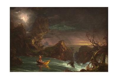 The Voyage of Manhood: Manhood, 1842-Thomas Cole-Giclee Print