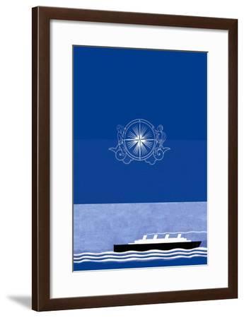 The Voyage Out No Title-Frank Mcintosh-Framed Art Print