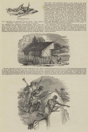The Voyages of Captain James Cook--Giclee Print