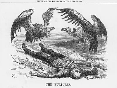 The Vultures, 1887-Joseph Swain-Giclee Print