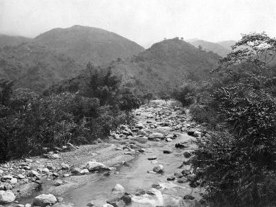 The Wag-River, Castleton, Jamaica, C1905-Adolphe & Son Duperly-Giclee Print