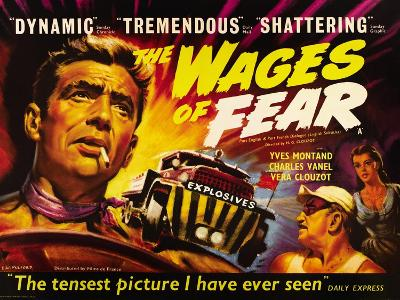 The Wages of Fear, Yves Montand, Charles Vanel, Vera Clouzot, 1955--Art Print