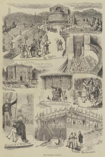 The Wagner Festival--Giclee Print