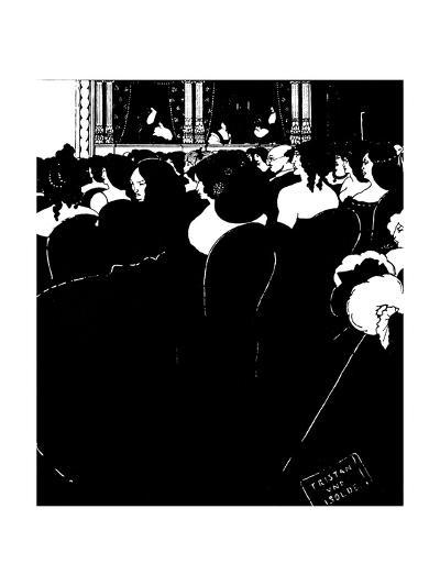 The Wagnerites-Aubrey Beardsley-Giclee Print