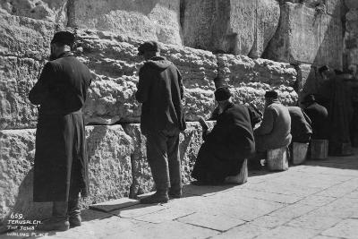 The Wailing Wall, Jerusalem, C1920S-C1930S--Giclee Print