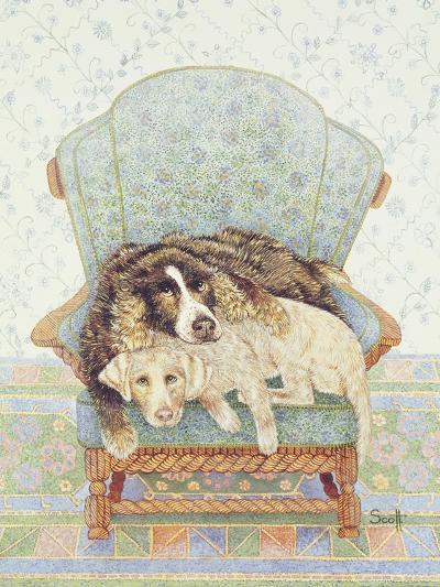 The Waiting Game-Pat Scott-Giclee Print
