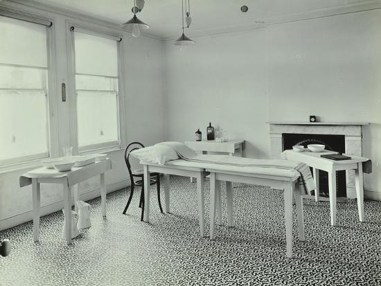The Waiting Room, Norwood School Treatment Centre, London, 1911--Photographic Print